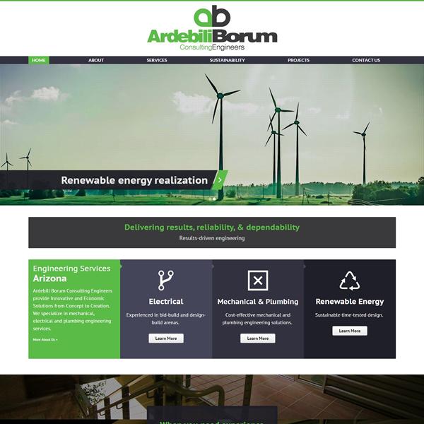 Engineering Web Design