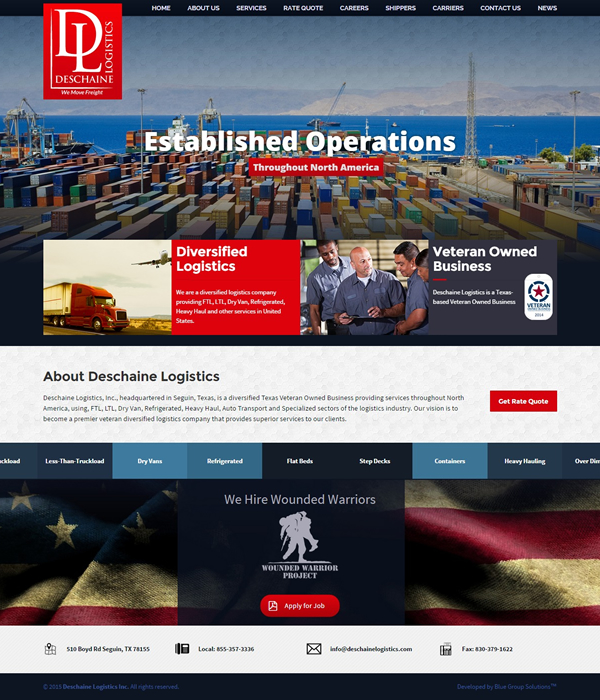 freight-broker-web-design