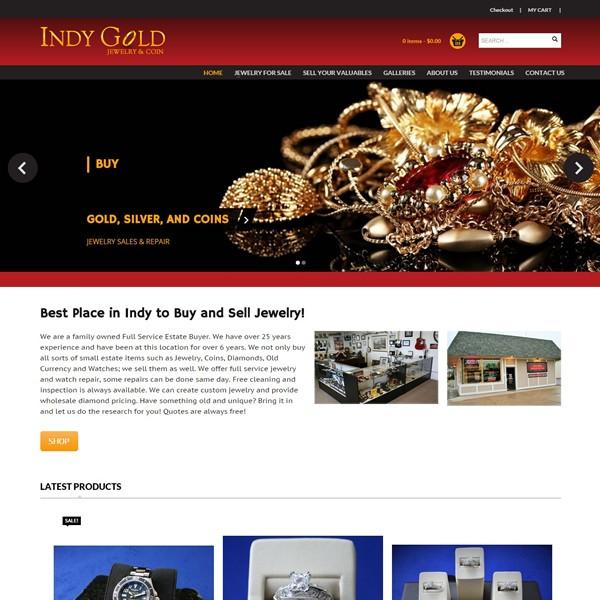 Jewelry Website Design