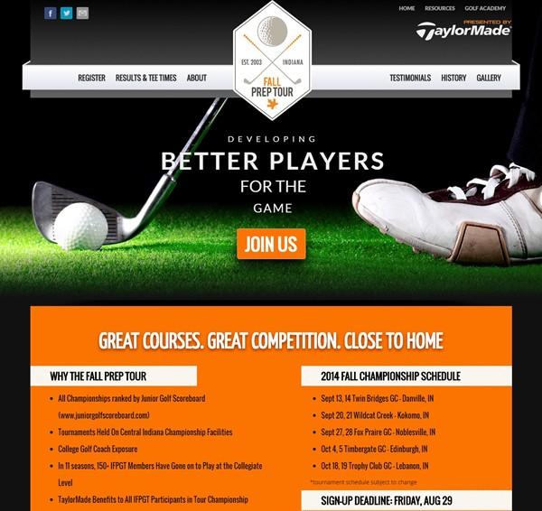 Sports Web Design