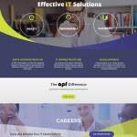 Technology Company Website Design