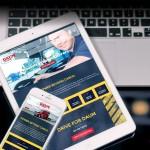 Trucking Web Design